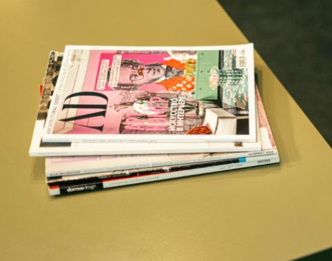 Bürgermagazin mit Werbeanzeigen
